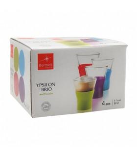 Kuuma joogi klaas Bormioli Rocco mix värvid 220ml