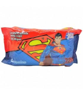 Niisked salvrätikud Superman 72tk