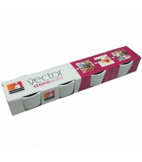 Vector kivikeraamikatootekomplekt 4 tk
