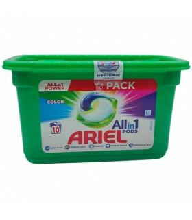 Pesukapslid ARIEL Color 10tk