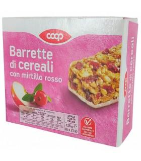 Müslibatoon Barrette di cereali jõhvika/õuna 126g 6tk