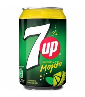 7UP Mojito Fat can 330ml
