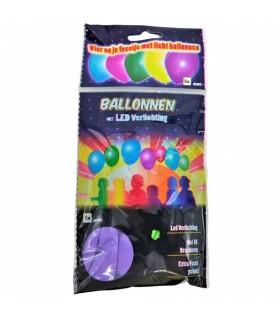 Õhupallid LED 5tk