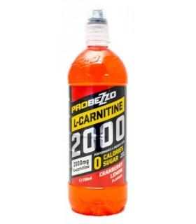 Spordijook ProBezzo L-carnitine 2000mg jõhvika/sidruni suhkruvaba 700ml