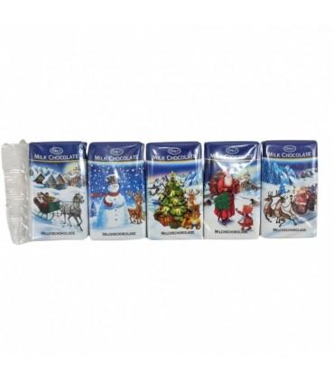 Christmas - Milk chocolate 5x15g bar Only