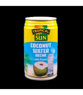 Kookosevesi tükkidega Tropical Sun 330ml