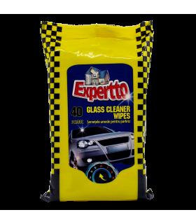 Niisked lapid Auto- klaasipuhastus Expertto 40tk