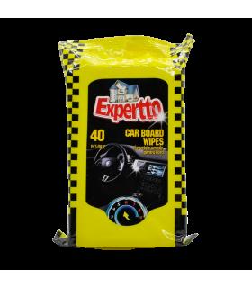 Niisked lapid Auto - armatuuripuhastus Expertto 40tk