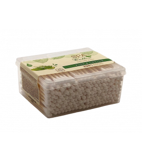 Vatitikud SPA Cotton Aloe karbis 200tk