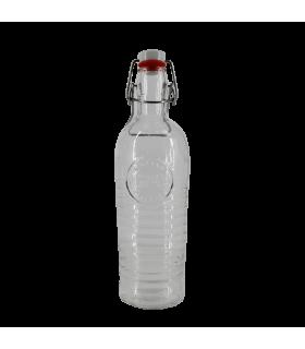 Klaaspudel korgiga 1,2L