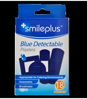 Plaastrid Smileplus Blue 18tk