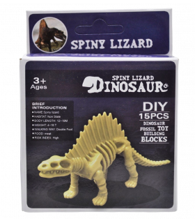 Dinosauruse skelett Spiny Lizard 6cm