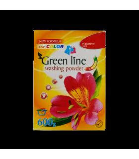 Pesupulber Green Line värvilisele pesule 600g