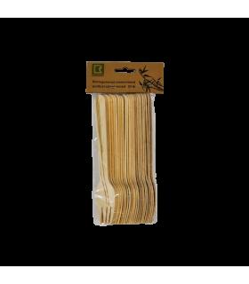 Ühekordsed puidust kahvlid 24tk