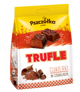 Rummimaitselised kommid šokolaadikattega Trufle 218g