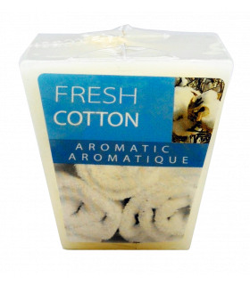 Küünal Fresh Cotton valge H4,5cm