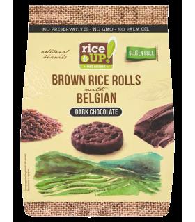 Riisigaletid RiceUP! Tumeda šokolaadiga 50g
