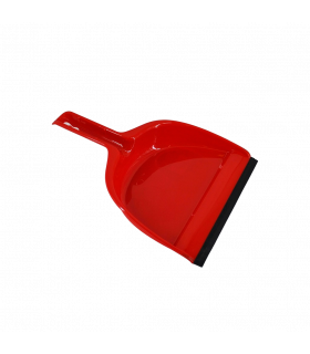 Prügikühvel VILEDA punane