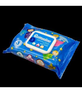 Niisked salvrätikud beebidele Cottonino blue 64tk