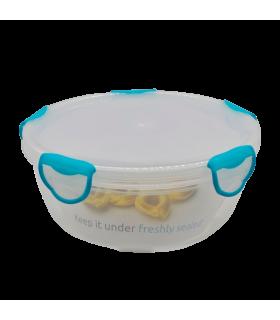 Säilituskarp plastik ümar Clip Fresh Classic 2.6L