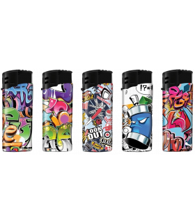 Tulemasin B!FLAME mini lighter, Graffiti