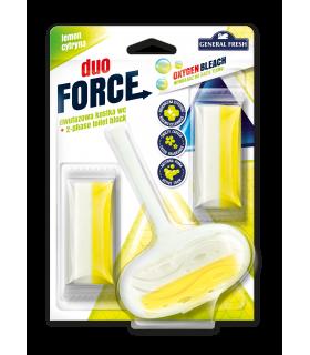 WC värskendaja Duo Force + 2täidet (sidrun) 3x40g
