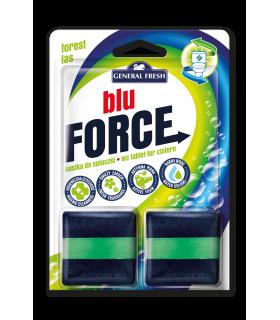WC loputuskasti tablett Blu Force (mets) 2x50g