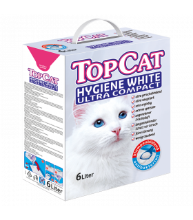 Kassiliiv Top Cat Hygiene White Ultra Compact 6L