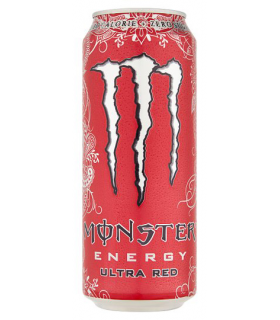 Energiajook Monster Energy Ultra Red 500ml