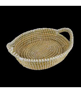 Korv sangaga (Kaisa & recycled plastic) 40x32x10cm