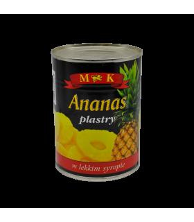 Kompott ananassiseibidega 565g