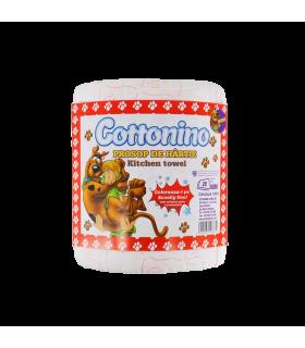Majapidamispaber Cottonino Jumbo Scooby 2kih/60m mustriga 300lehte