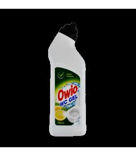 WC puhastusgeel Owio sidruni 750ml