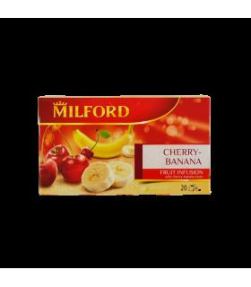 Tee Milford Kirsi/Banaani 50g 20tk