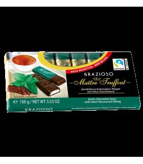 Tumeda šokolaadi pulgad piparmündiga Maître Truffout 8x12,5g
