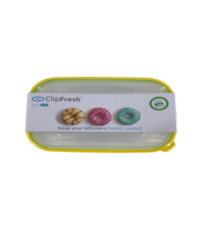 Säilituskarp Clip Fresh Eazy plast 1,2L 2tk