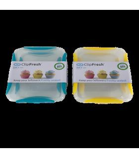 Säilituskarp plastik Clip Fresh 980ml(2tk), 4L (1tk)  3tk