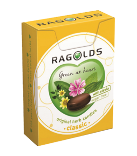 Pastillid Ragolds suhkruvaba, ürdi 30g