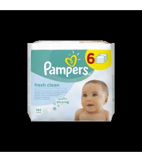 Pampers niisked salvrätikud Fresh Clean 6pakk 6*64