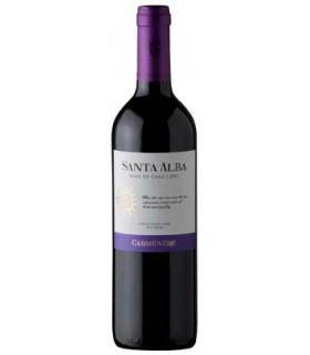 Vein GT SANTA ALBA CARMENERE punane/kuiv 13% 75cl