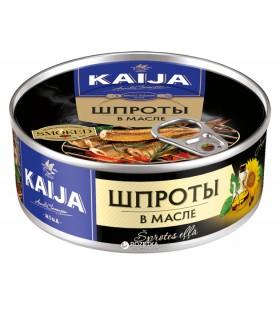 **Sprotid õlis 240g (Kaija, Läti)