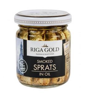 Sprotid õlis Riga Gold 70g/100g