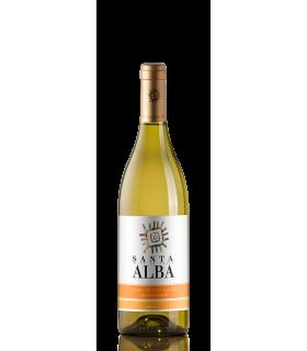 Vein GT SANTA ALBA CHARDONNAY SEMI SWEET valge/poolmagus 13% 75cl