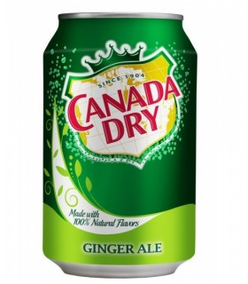 Canada dry ginger ale 330ml