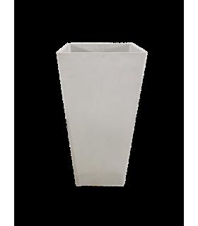 Lillepott valge 41x41x80 cm