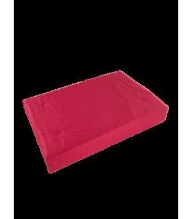 Voodilina kummiga 90x200cm(30cm) punane