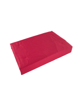Voodilina kummiga 160x200cm(30cm) punane