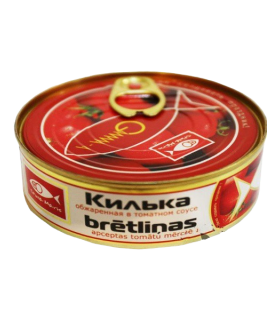 Baltikilud tomatikastmes 240g