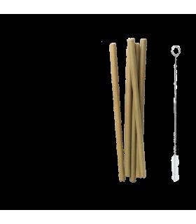 Kõrred bambusest 5tk + hari