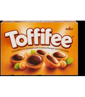 Toffifee sarapuupähkel karamellis nugatikreemi ja shokolaadiga 125g